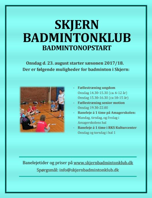 Badmintonopstart
