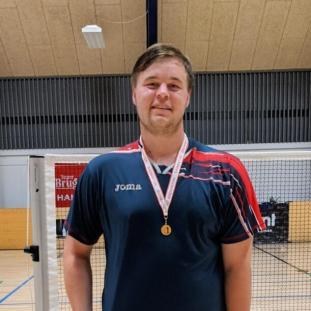 Senior herresingle B: Frederik Mauritzen