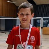 U11 herresingle A: Lasse Møbjerg